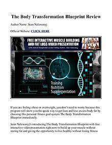 The body transformation blueprint pdf workout book free download the body transformation blueprint pdf workout book free download sean nalewanyj joomag newsstand malvernweather Choice Image
