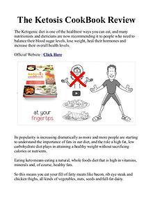 Ketosis Cookbook Melt The Fat Away PDF / eBook Program Free Download