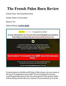 The French Paleo Burn PDF / Diet Recipes Free Download