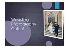 Wedding Photography Tips