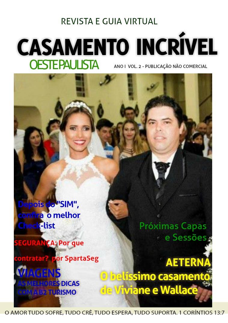 Casamento Incrível Oeste Paulista Vol. II Casamento Incrível Oeste Paulista