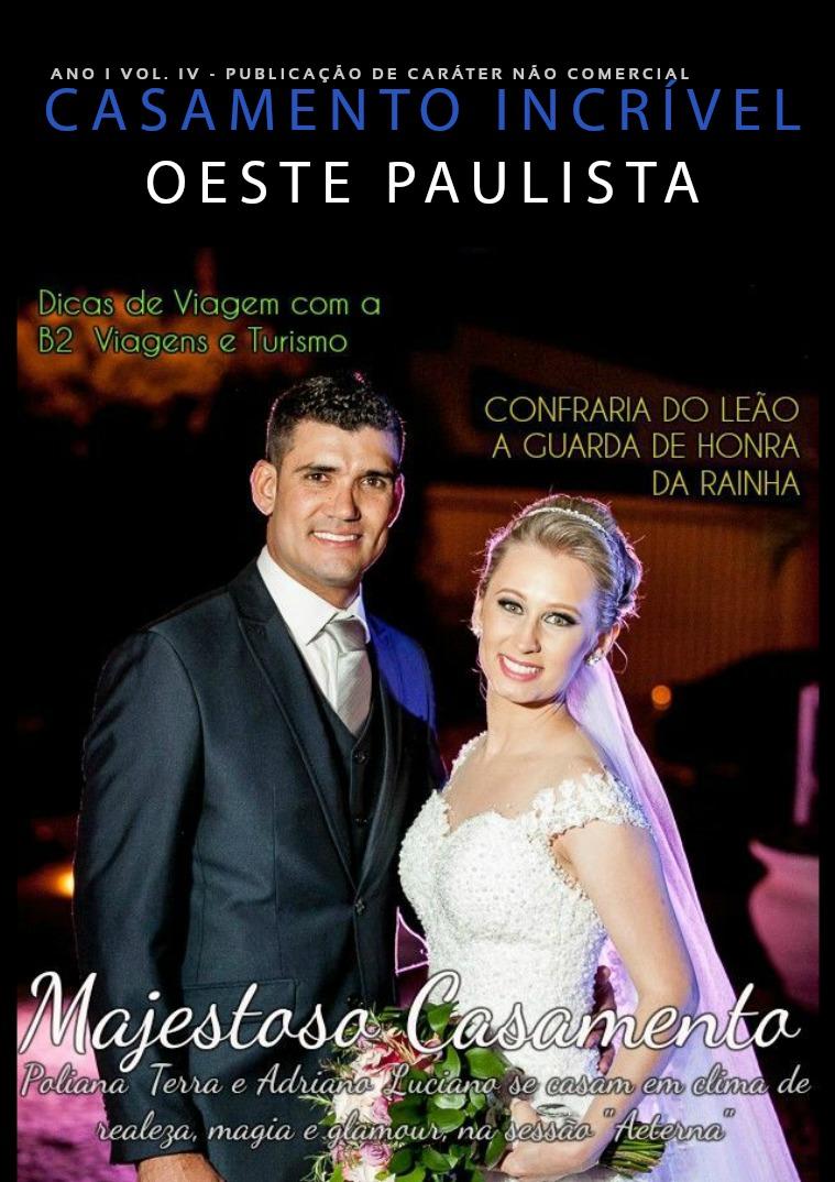 Casamento Incrível Oeste Paulista Ano I Vol. IV Ano I Vol. IV