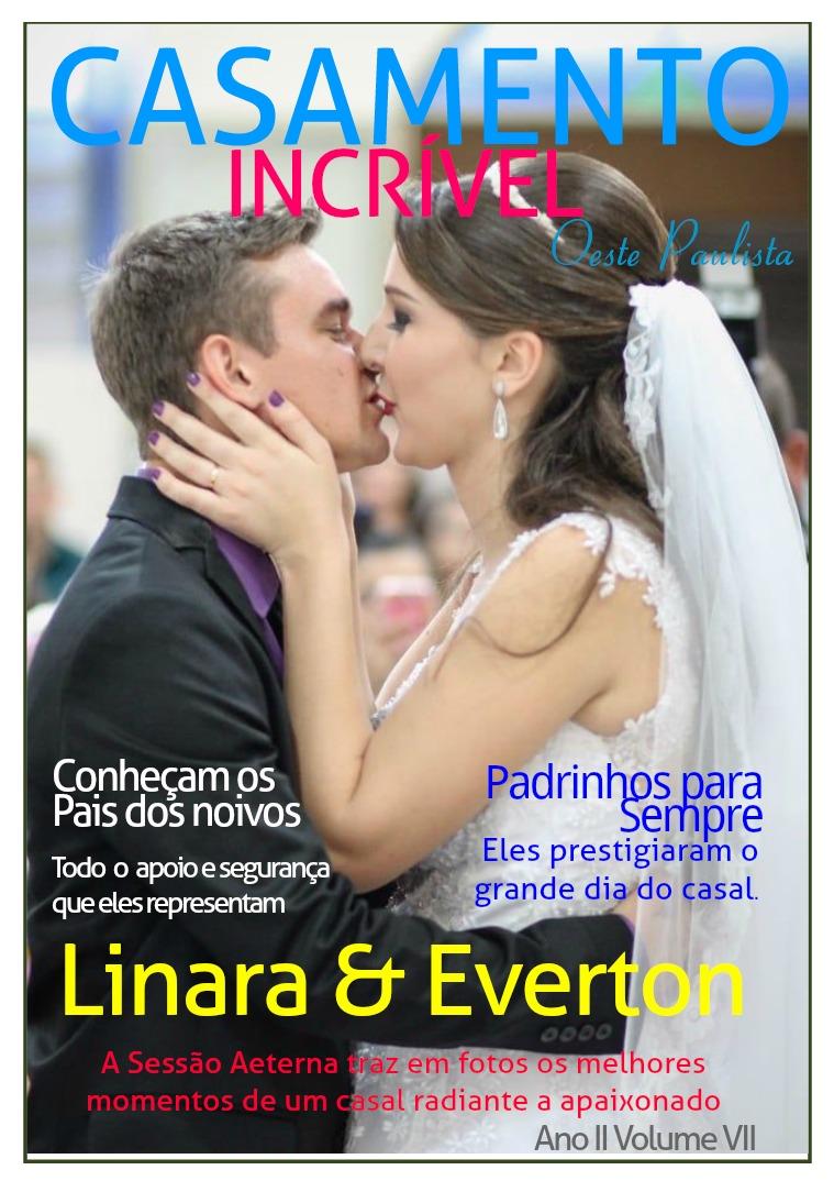 Casamento Incrível Oeste Paulista Ano II Vol. VII ANO II VOL. VII