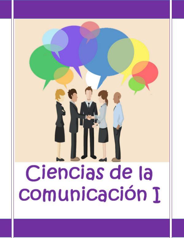 Comunicación 1 NPE Ciencias de la Comunicación I