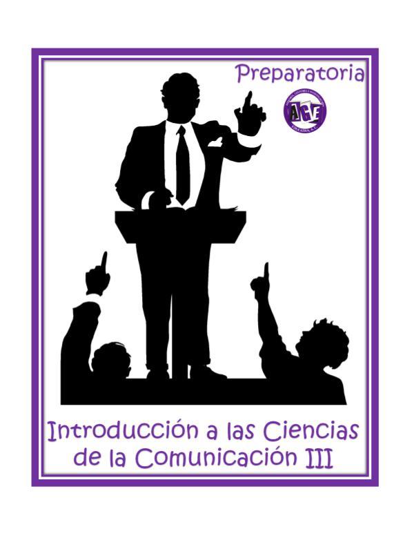 Introducción Comunicación 3 NPE Introducción a las ciencias de la comunicación