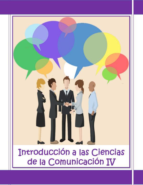 Introducción Comunicación IV AGE Introducción a las Ciencias de la Comunicación