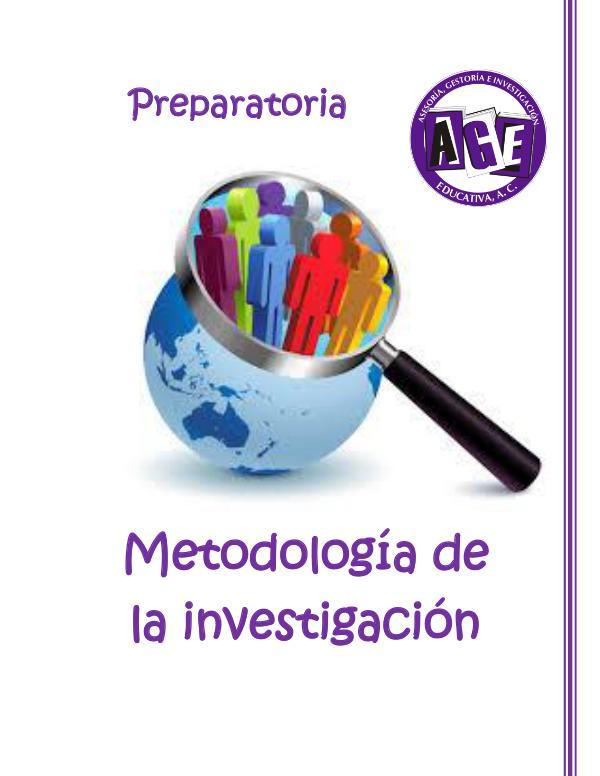 Metodología Investigación AGE_metodologia de la investigacion