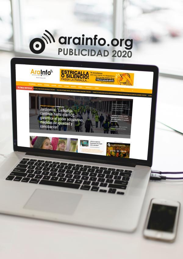 Dossier Publicidad AraInfo 2020 DOSSIER PUBLICIDAD AraInfo 2020 web