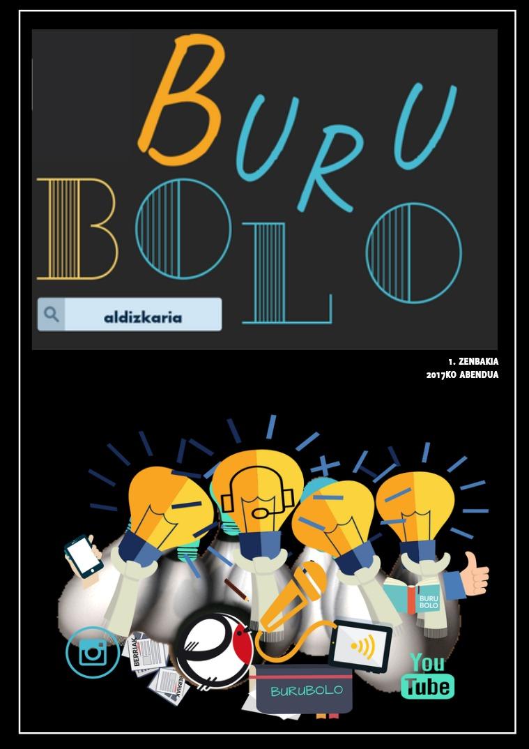 BURUBOLO 1. zenbakia BURUBOLO 1. ZENBAKIA (2017KO ABENDUA)