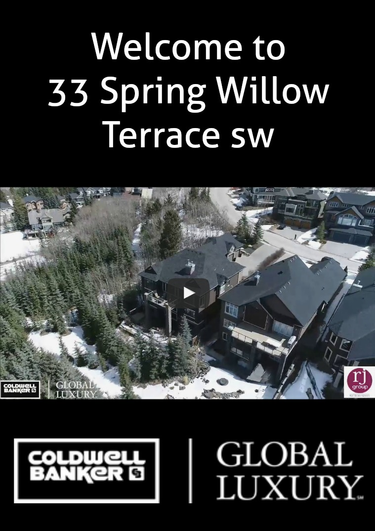 Rj Group Real Estate Magazine 33 Spring Willow Terrace sw.