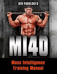 MI40 PDF / Workout, Gym, Program Free Download