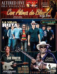"""Con Alma de Blues Magazine""  N°31 Español"