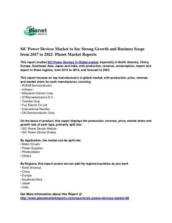 SiC Power Devices Market SiC Power Devices Market