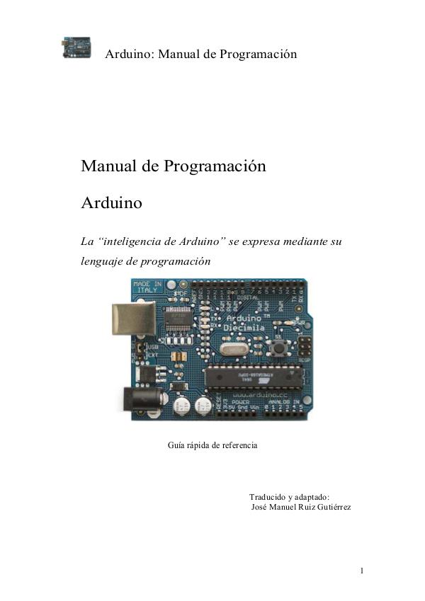 robotica educativa Manual+Programacion+Arduino