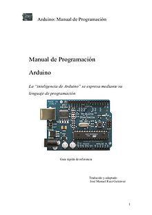 manual de programación arduina