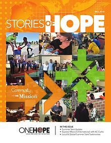 Stories of Hope - Fall 2018