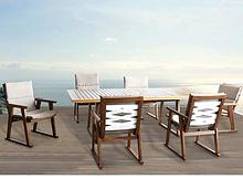 hormel furniture outdoor dining table set