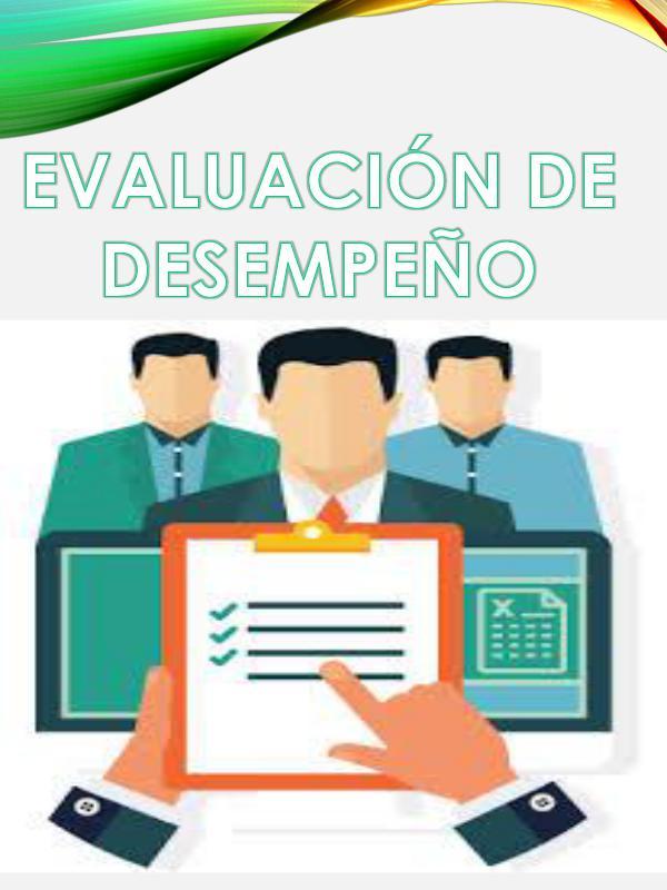 evaluación de desempeño evaluacion de desempeño