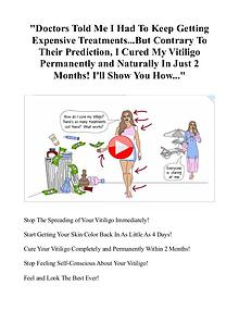 Natural Vitiligo Treatment System PDF / eBook Free Download