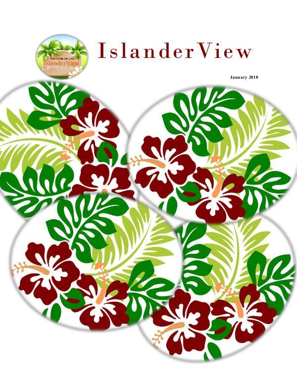 IslanderView Digital Magazine January 2018