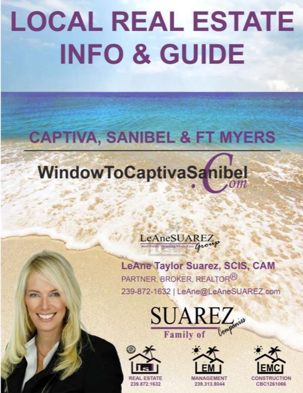 Sanibel Captiva SWFL - March 2018 Real Estate Info Captiva Sanibel and SWFL Real Estate Guide