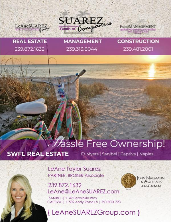 Sanibel Captiva and SWFL Real Estate  GUIDE May 2019 2019 Sanibel Captiva SWFL Real Estate Guide