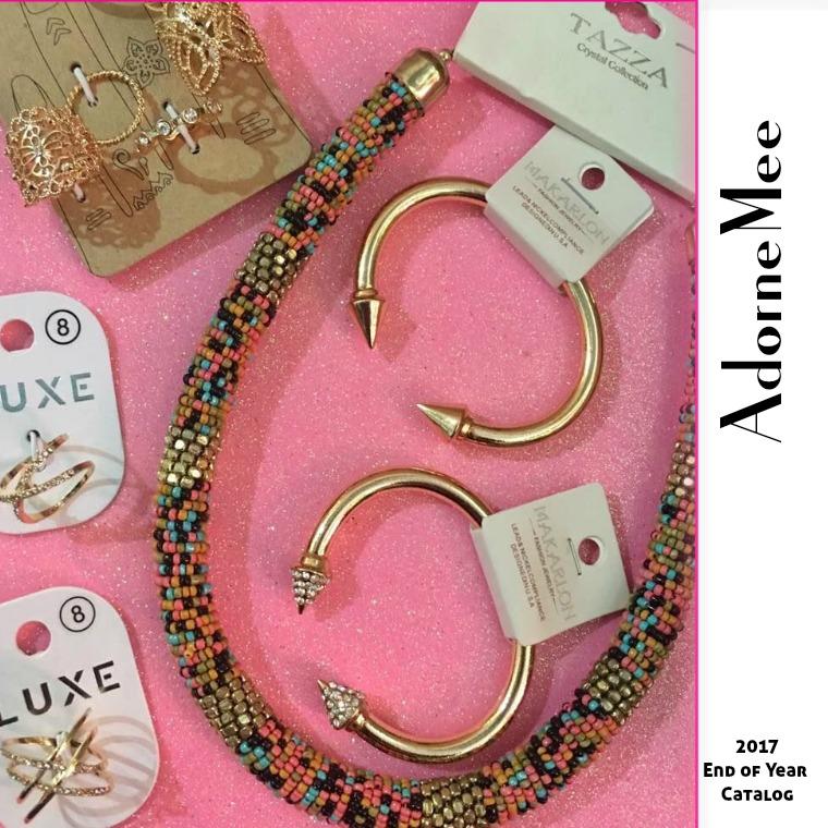 AdorneMee Fashion Jewelry Catalog AdorneMee Accessories Issue 1 - Dec 2017