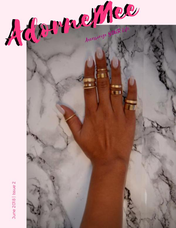 AdorneMee Fashion Jewelry Catalog AdorneMee Accessories Issue 2- June 2018