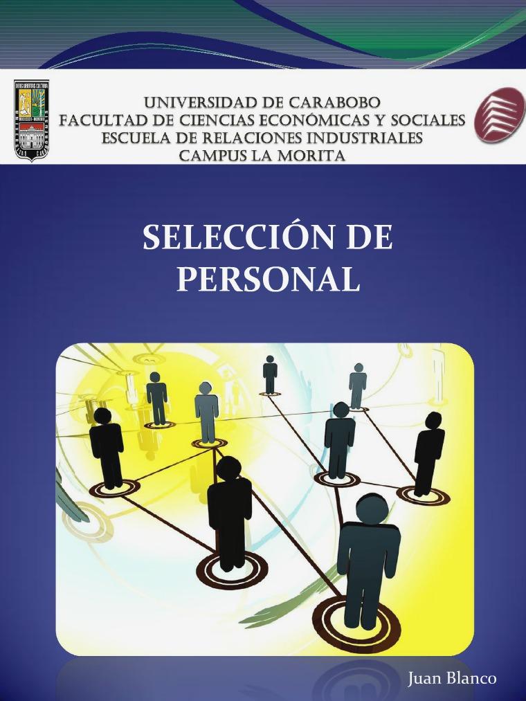 Selección de Personal Selección de Personal 2017