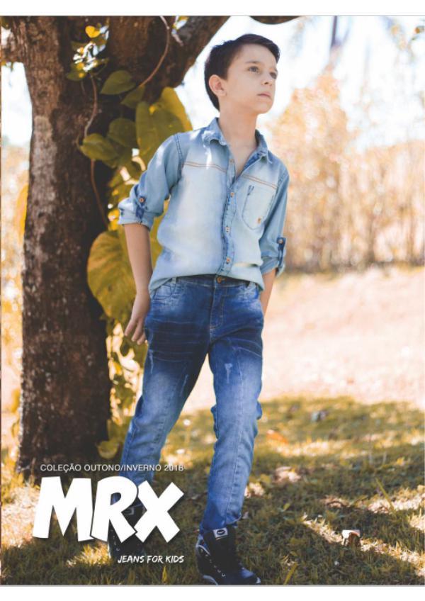 Catálogo Inverno 2018 MRX JEANS Catálogo editado 2018