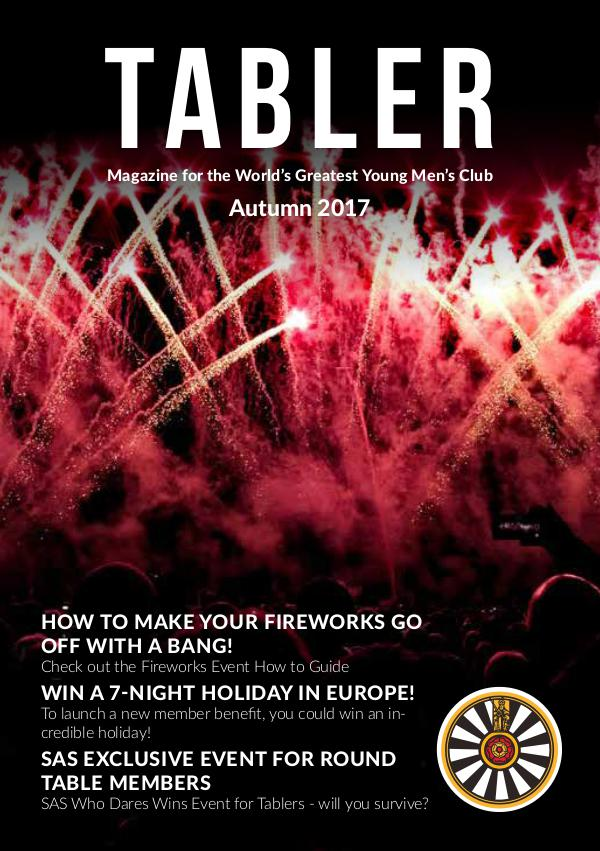 Tabler Autumn 2017 Round Table Magazine Autumn 2017