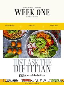 Weekly Meal Plan Aug 26th 2018