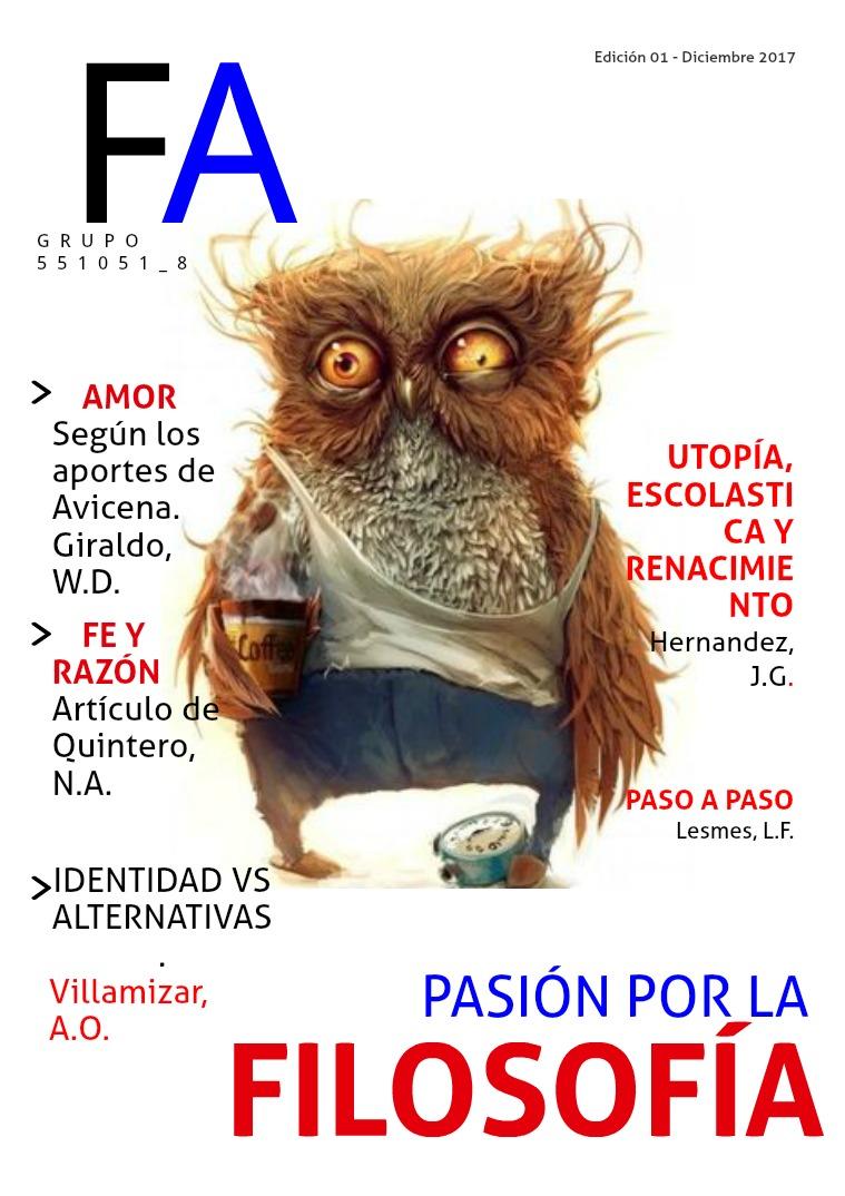 Revista de filosofía Volumen 001