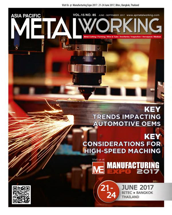 Asia Pacific Metal Working Vol. 15 ON. 85 June - September 2017