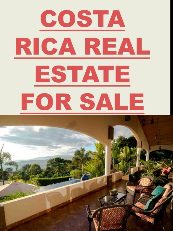 American Expats Living Costa Rica Real Estate For Sale