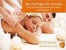 Spa Packages For Couples in Toronto