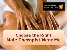 Choose the Right Male Therapist Near Me