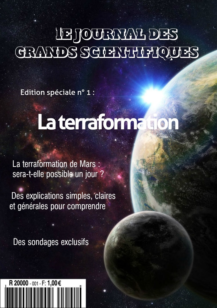 La terraformation Mars 2018
