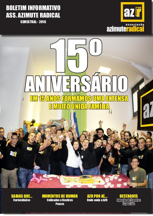 Boletim AZR online 1ª edição | 15 anos AZR
