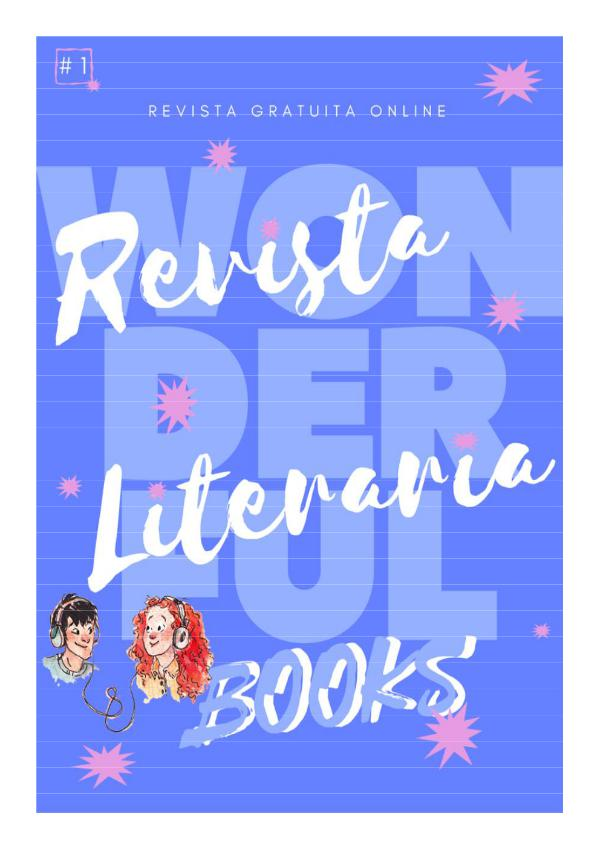 Revista Literaria Wonderful Books Revista Wonderful Books 1