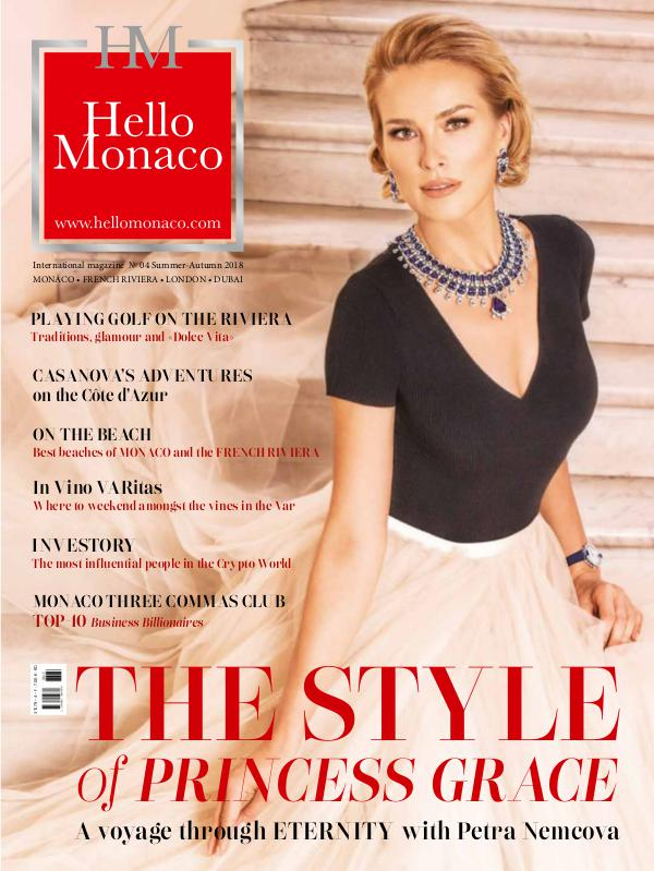 Hello Monaco magazine HelloMonaco 2018#04_Summer_Autumn_WEB