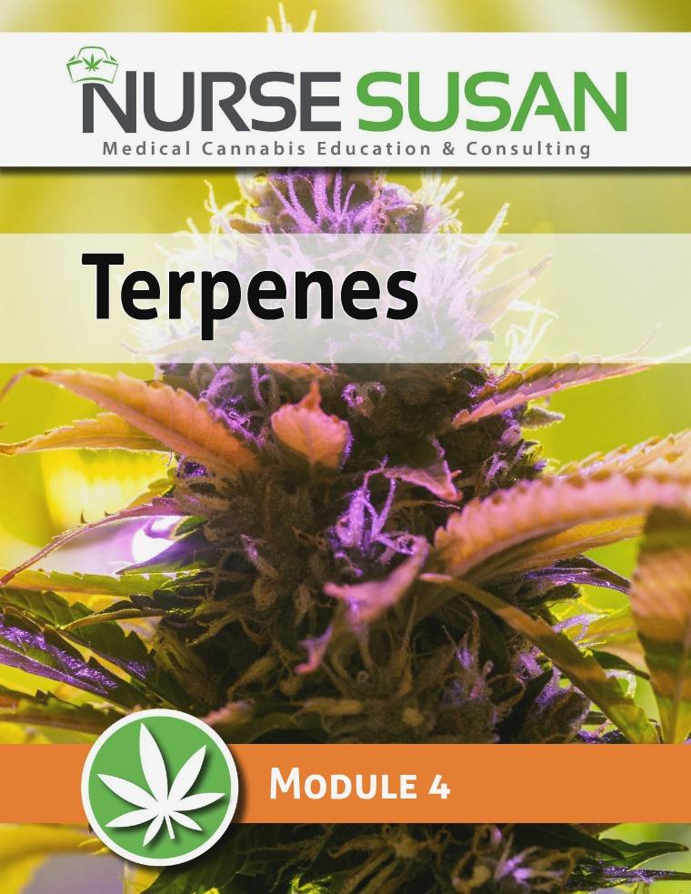 NurseSusan Cannabis Coach Training Module 4 Terpenes