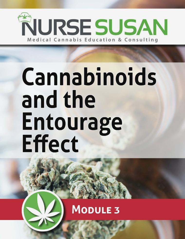 NurseSusan Cannabis Coach Training Module 3 Cannabinoids Entourage Effect