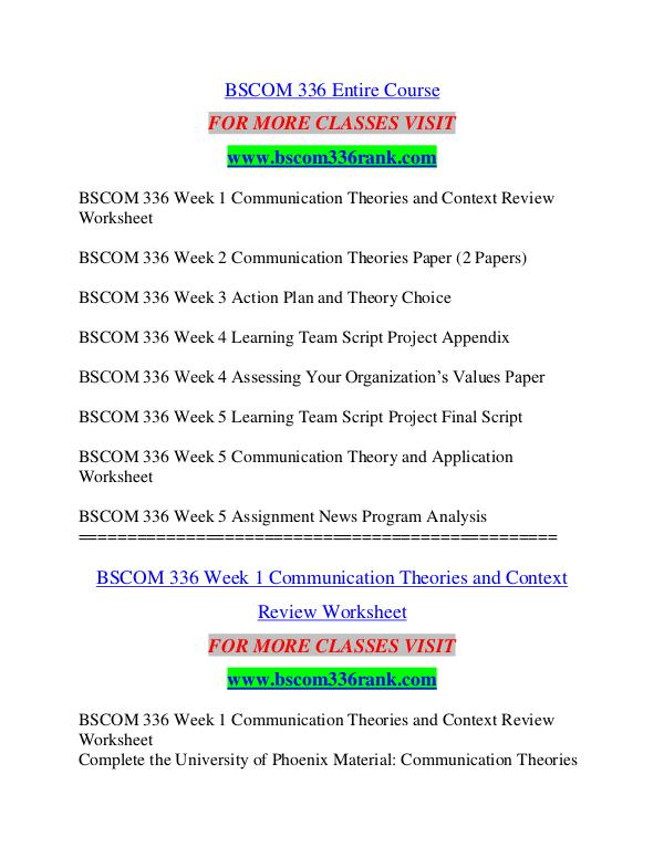 Bscom 336 Rank Education Specialist Bscom336rank Bscom 336