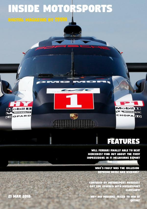 Inside Motorsports Vol.1 - March