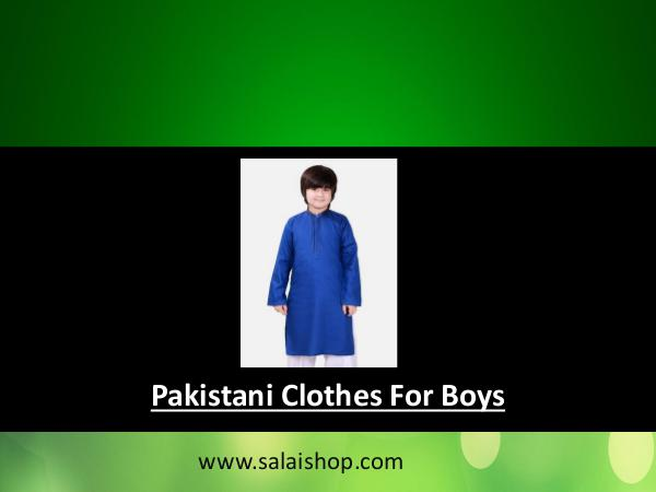 Children Dress Designs Pakistani Pakistani Clothes For Boys
