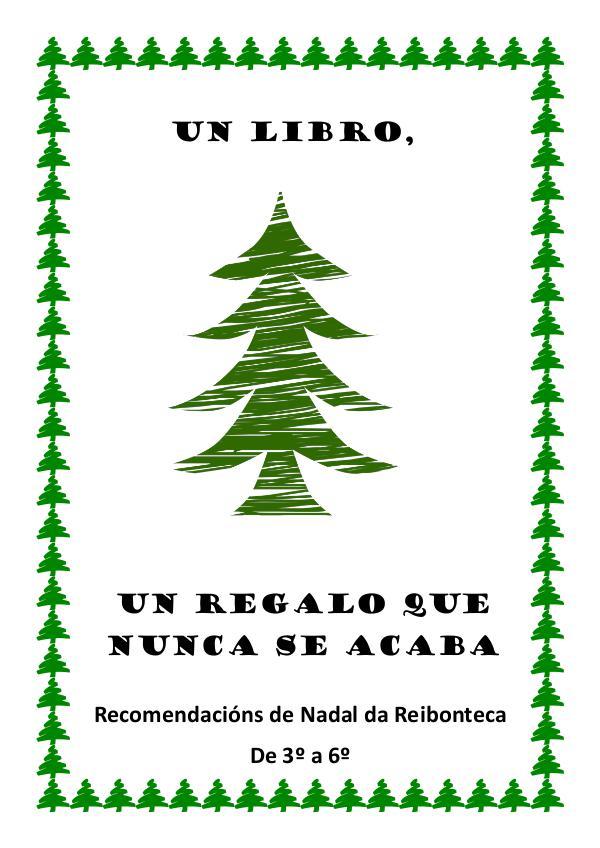 Guía de Nadal de 3º a 6º Folleto Nadal 2 e 3º ciclo 2017