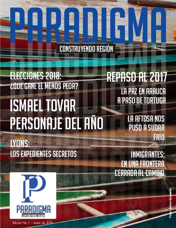 Revista Paradigma Paradigma Edición 1