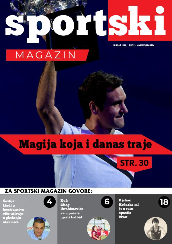 Sportski magazin #3 Sportski magazin #3