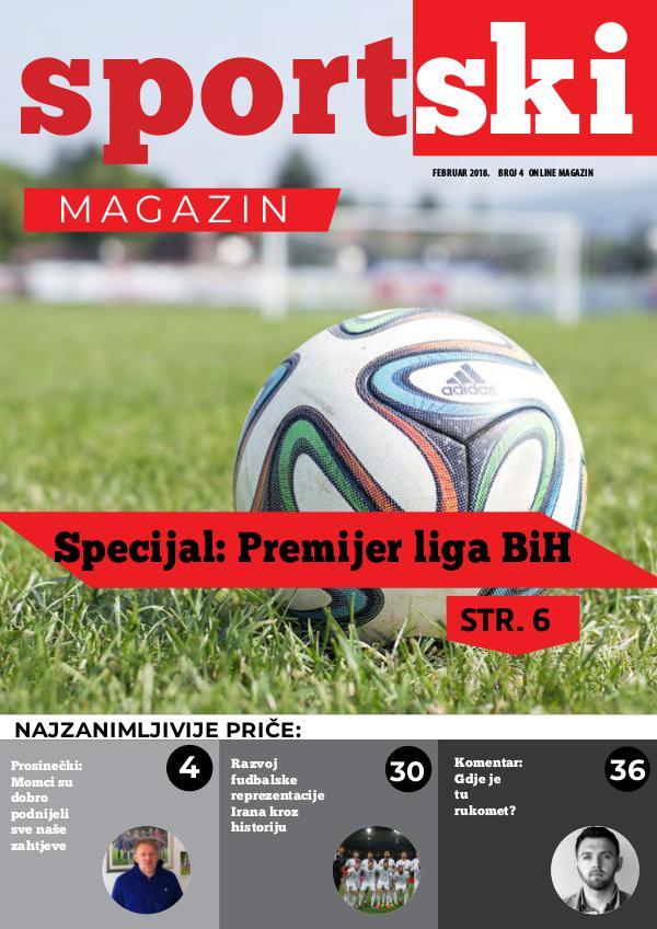 Sportski magazin #4 Sportski magazin #4